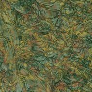 """VG0189A-Van Gogh Green/Copper/ Gold 24""""x36"""""""