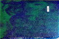 Y4606G-Teal Trans. w/ Cobalt Blue Streaks Granite