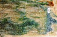 Y5242G-Beige Opal/Dark Green Trans.Streak/Brown Streaks Granite