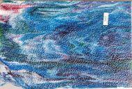 Y6347G-White Opal w/ Blue/Green/Purple/Gold Pink Streaks Granite