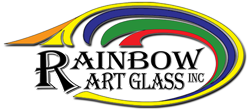 T3852 - T-Glass - White/Light Gray - Rainbow Art Glass - Distributor of Art Glass and Related Supplies Since 1960